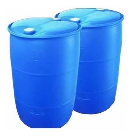 tankes 200 lts. - de plásticos. con 2 tapones. azul.