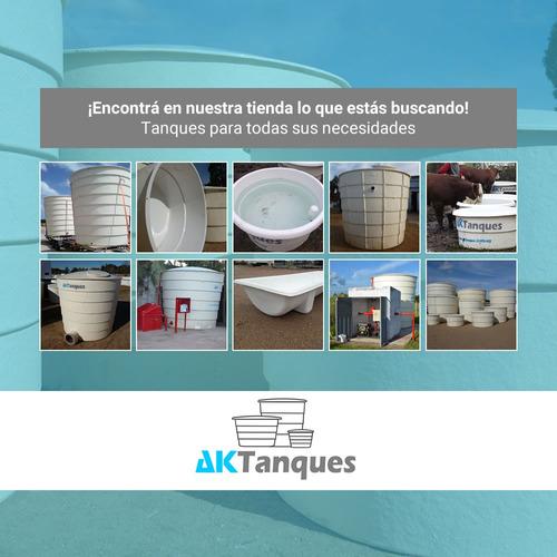 tanque bebedero para ganado aktanques 1.500 litros