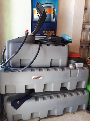 tanque para combustible cisterna c surtidor selecta