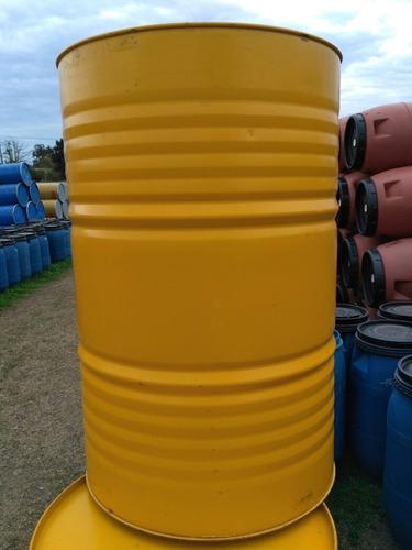 tanque (tambor) de chapa 200 litros aceite comestible impeca