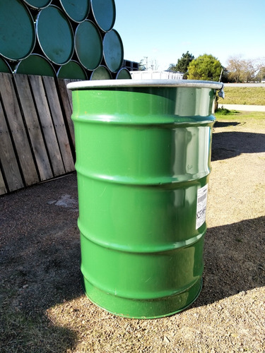 tanques de chapa 200 litros con tapa interior epoxi