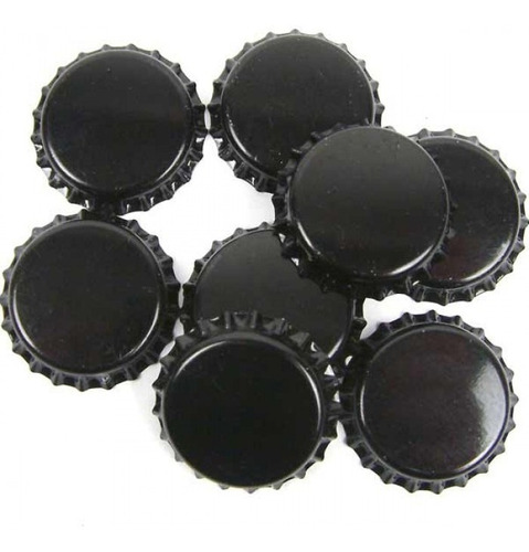tapa chapa chapita corona cerveza artesanal casera negra