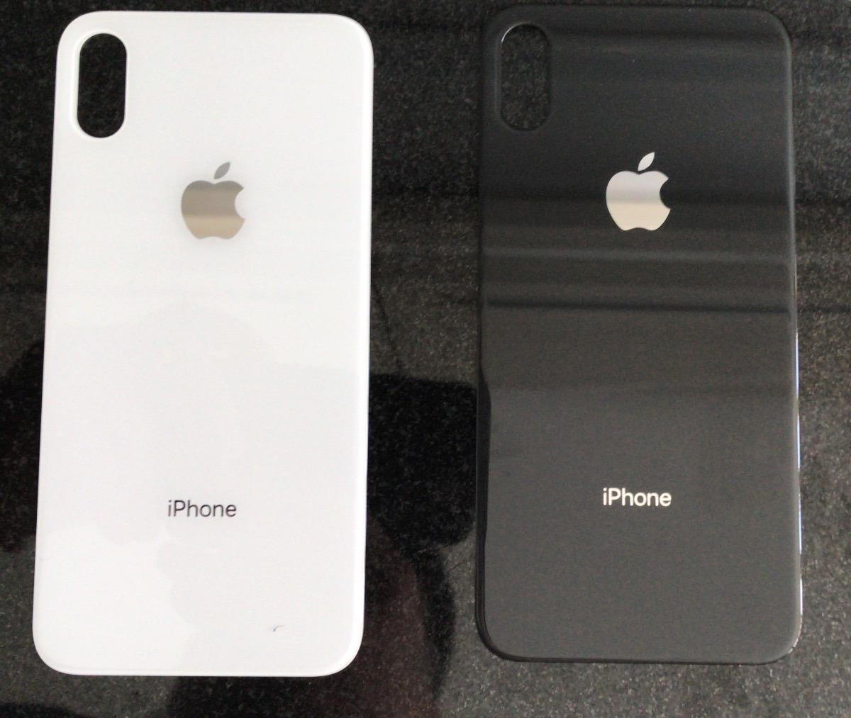 210fda2b119 tapa trasera bateria vidrio iphone x 8 8 plus negra/blanca ®. Cargando zoom.