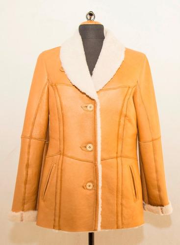 tapado, chaqueta, campera / ail - todo en cuero