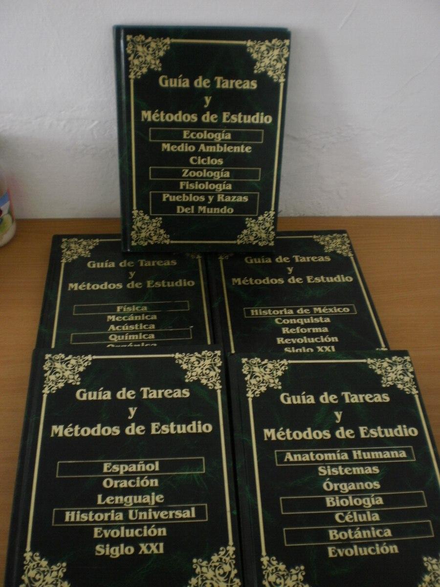 Tareas Y Métodos De Estudio Cinco Volumenes - $ 250.00 en Mercado Libre