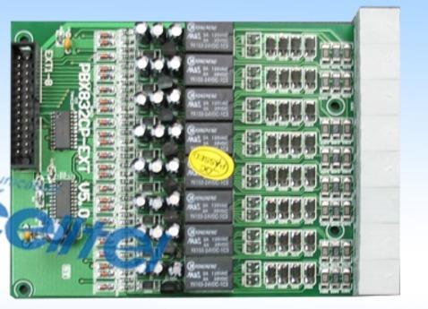 tarjeta 8 extensiones para conmutador pabx 832