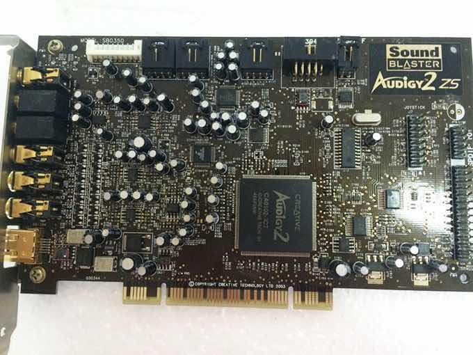 SOUND BLASTER AUDIGY ZS TREIBER WINDOWS 10