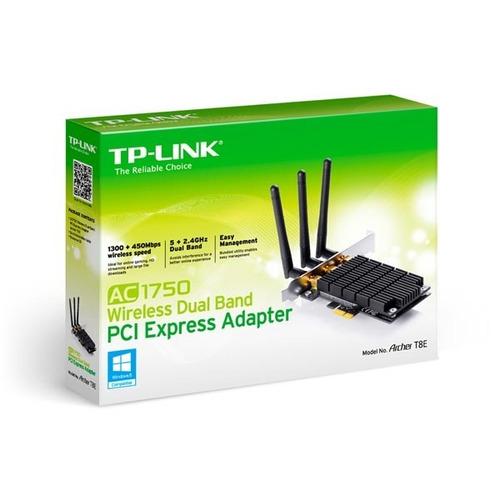 tarjeta de red tp-link pci-x banda dual ac1750 archer t8e