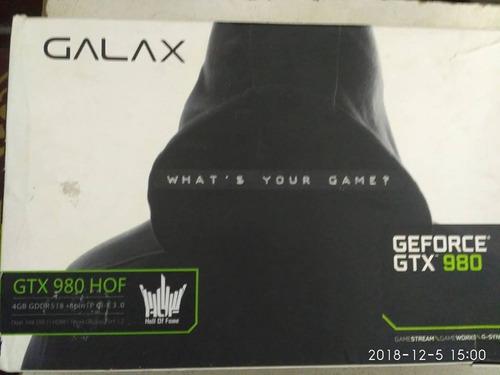 tarjeta de video geforce gtx 980