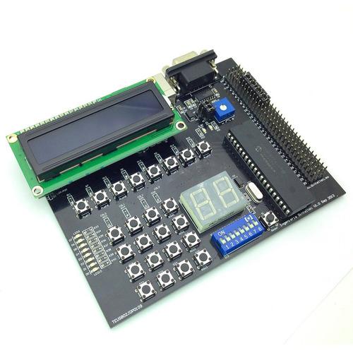 tarjeta desarrollo pic16f877a microcontrolador microchip