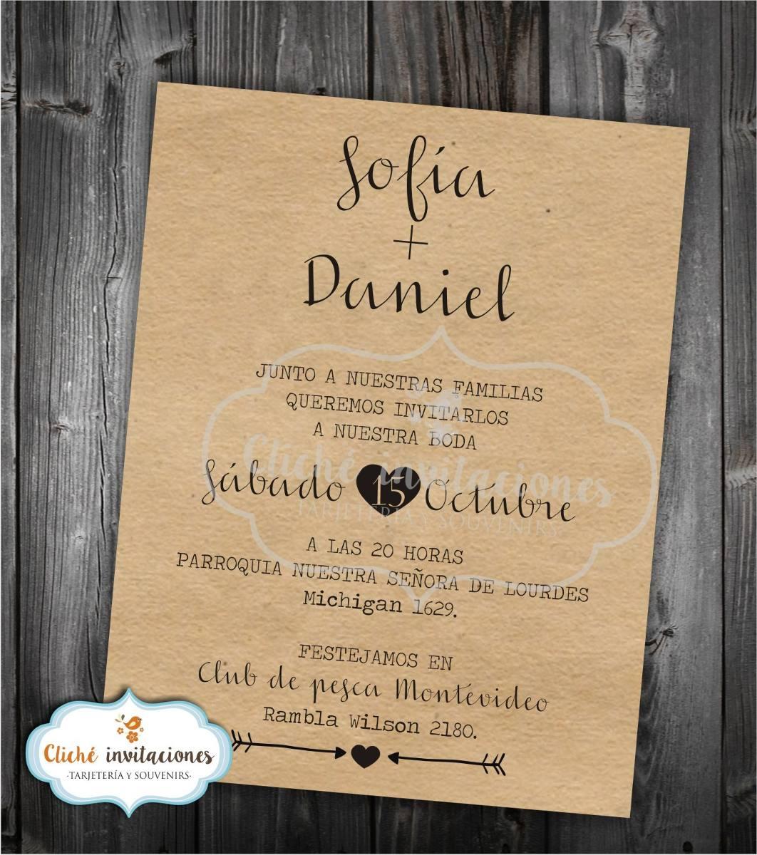 Tarjeta Invitaciones Para Boda Casamiento Quince Años