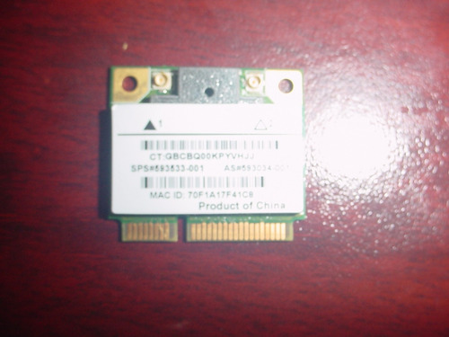 tarjeta original wifi compaq presario cq62