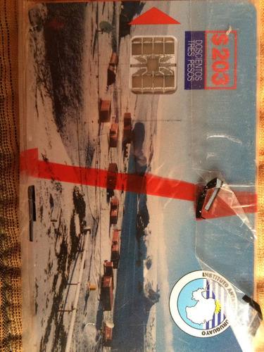 tarjetas antel antártica