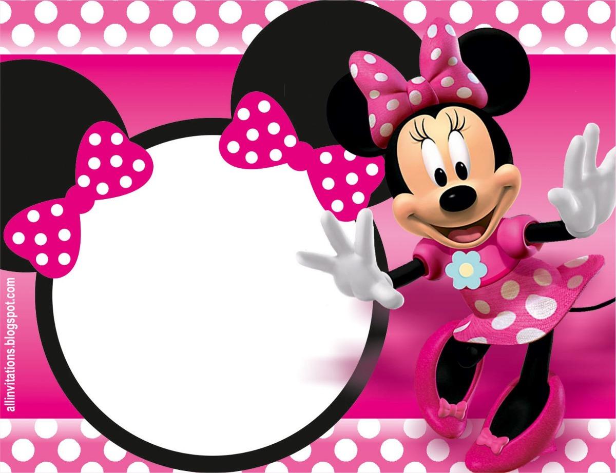 Tarjetas cumplea os minnie mouse o minnie beb 45 00 - Image de minnie ...