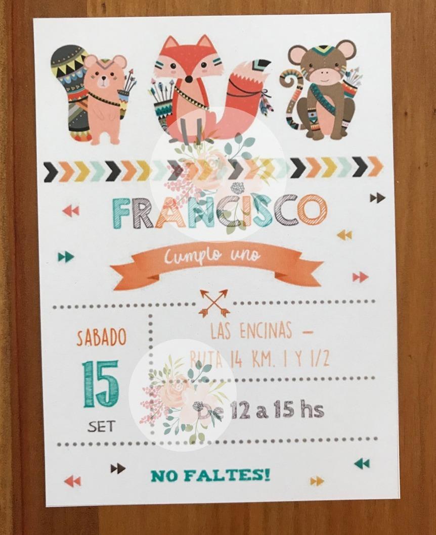 Tarjetas Invitacion Cumpleaños Infantiles
