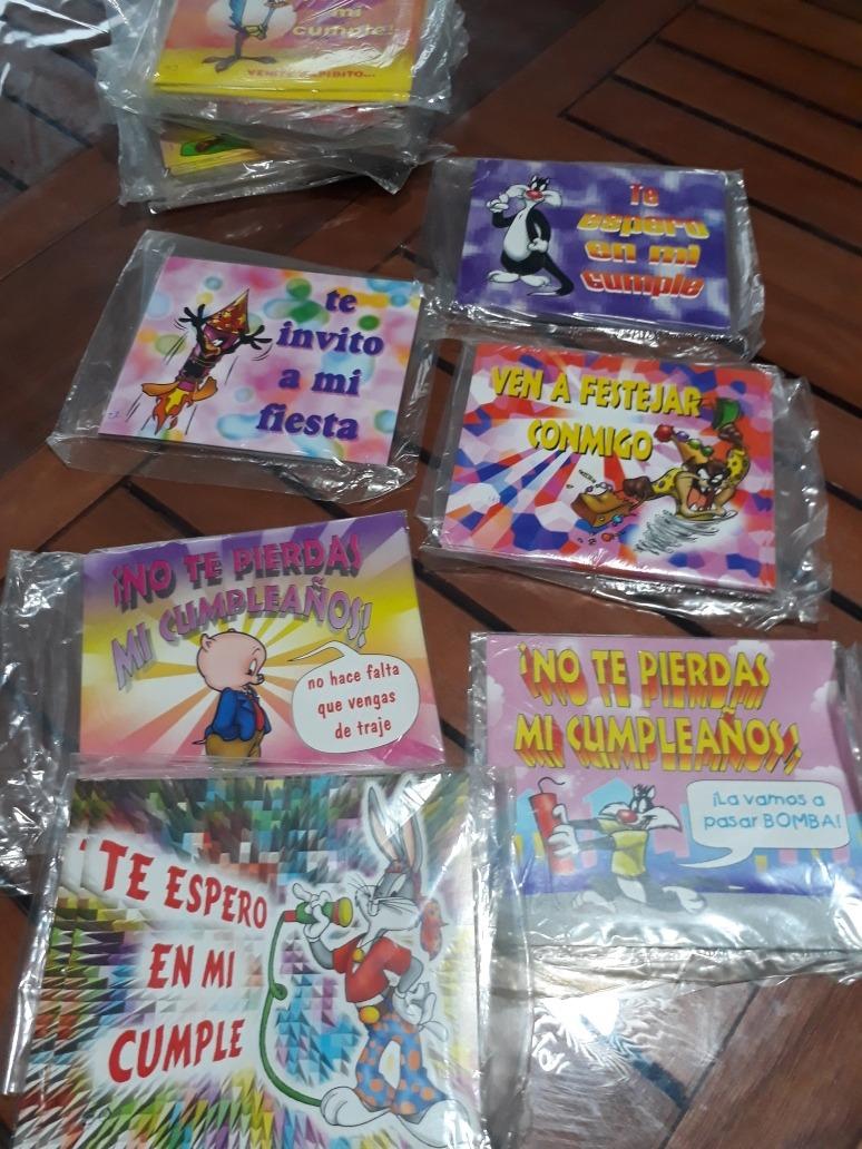 Tarjetas Invitacion De Cumpleaños Infantiles
