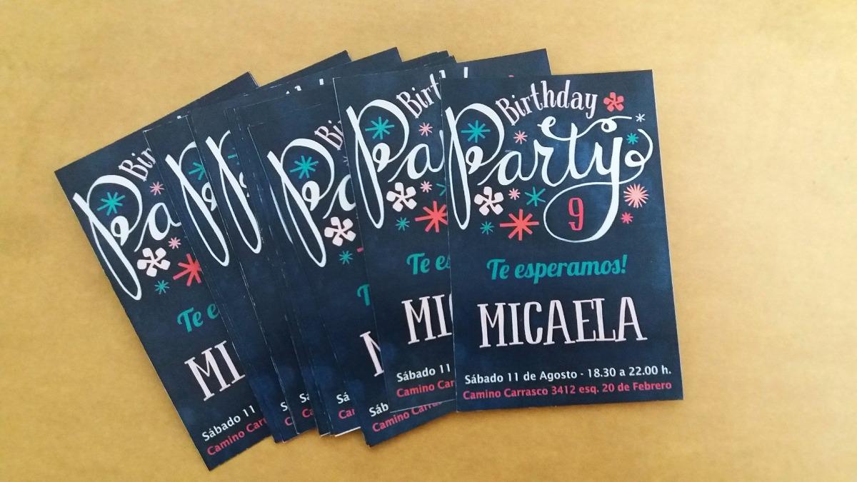 Tarjetas Invitaciones 15 Años Infantiles Bodas Cumpleaños