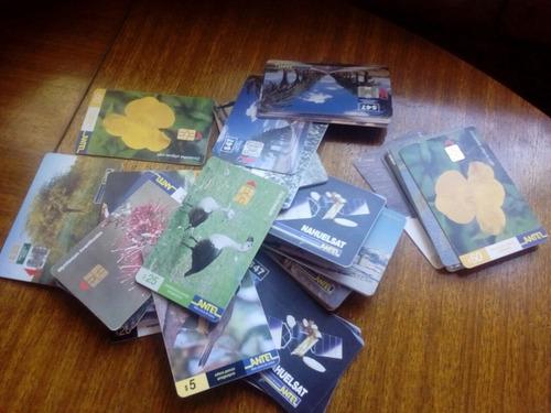 tarjetas telefonicas antiguas antel