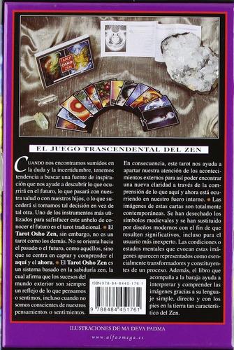 tarot osho zen. libro + 79 cartas