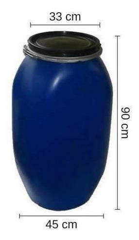 tarrina 135 litros. con zuncho chapa - tankes uy