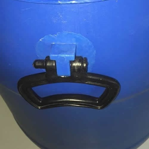 tarrina 60 litros. con zuncho chapa - envases uy
