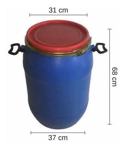 tarrina 60 lts. - tankes - tapa, zuncho chapa. usada.