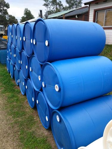 tarrina (bombona tanque) 200 litros plástico impecable.