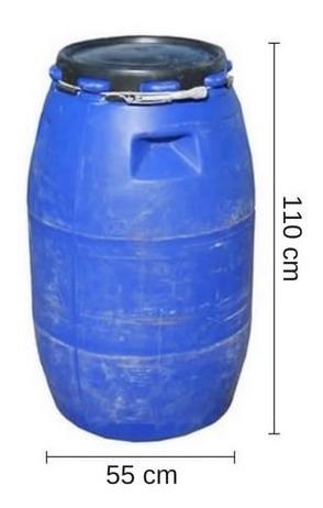 tarrinas 200 litros. sin tapa - tankes uy