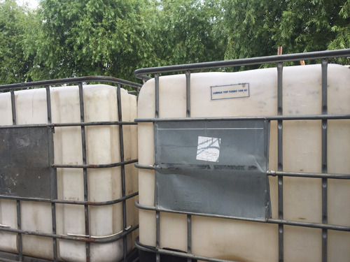 tarrinas plastico 1000 lt alquilo c /contrapeso o vendo