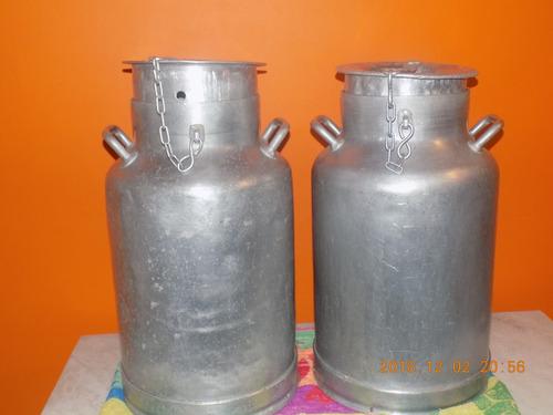 tarros lecheros de aluminio $ 2500 c/u