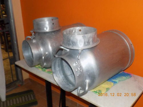 tarros lecheros de aluminio $ 3300c/u