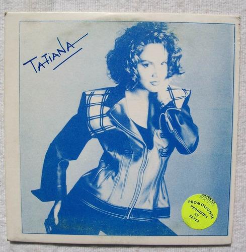 tatiana. rosas en el mar. cd promo sony 1994