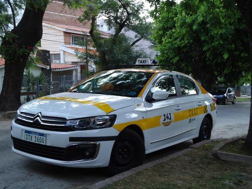 taxi vendo permiso y citroën c-elysée diesel nuevo