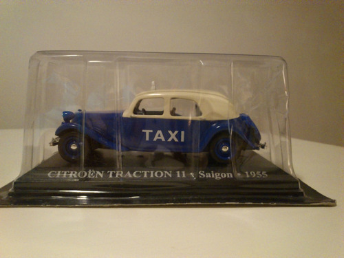 taxis del mundo / citroen traction ii saigon 1955