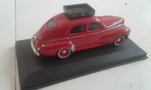 taxis del mundo peugeot 203 casablanca 1960