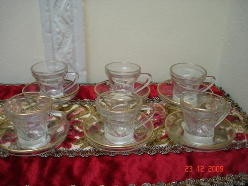 tazas de cafe talladas diseño hojas impecables miralas