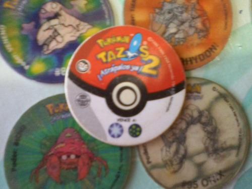 tazos pokemon 2 - 3d lote x 15 difer.