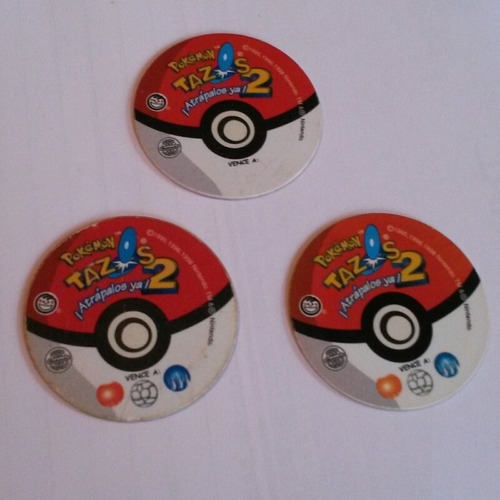 tazos pokemon 2 - pepsico snacks