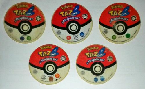 tazos pokemon - pepsico snacks