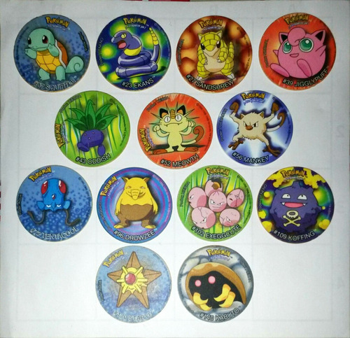 tazos pokemon - pepsico snacks