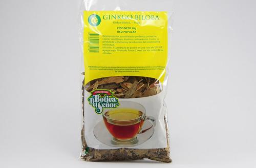 té de ginkgo biloba hojas botica del señor 30g