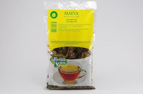 té de malva hojas botica del señor 25g