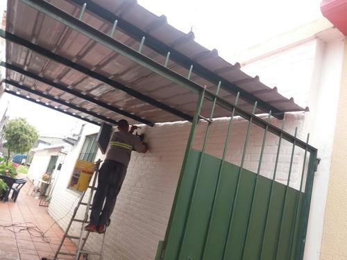 techos en chapa teja,barbacoas,cocheras y gazebo