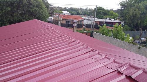 techos livianos en policarbonato o en chapa color