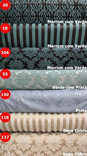 tecido jacquard para decoração diversas cores 2,50m x 2,80m