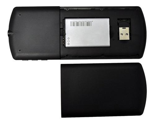 teclado favi mini bluetooth keyboard with laser pointer