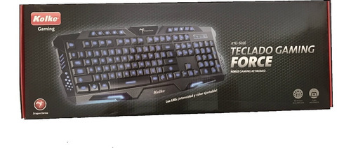 teclado gamer kolke force retroiluminado