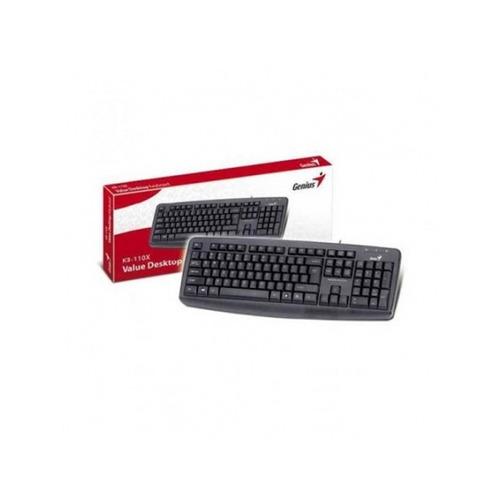teclado genius kb-110x ps2 negro