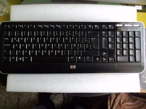 teclado  hp usb multimedia