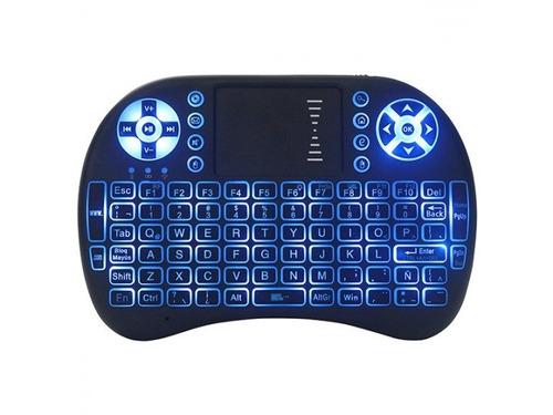 teclado inalambrico para smart tv con teclas retroiluminadas